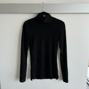 Wilfred free ribbed turtleneck sweater